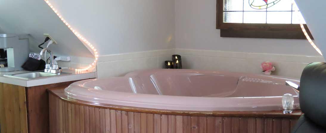 The Loft Hot Tub