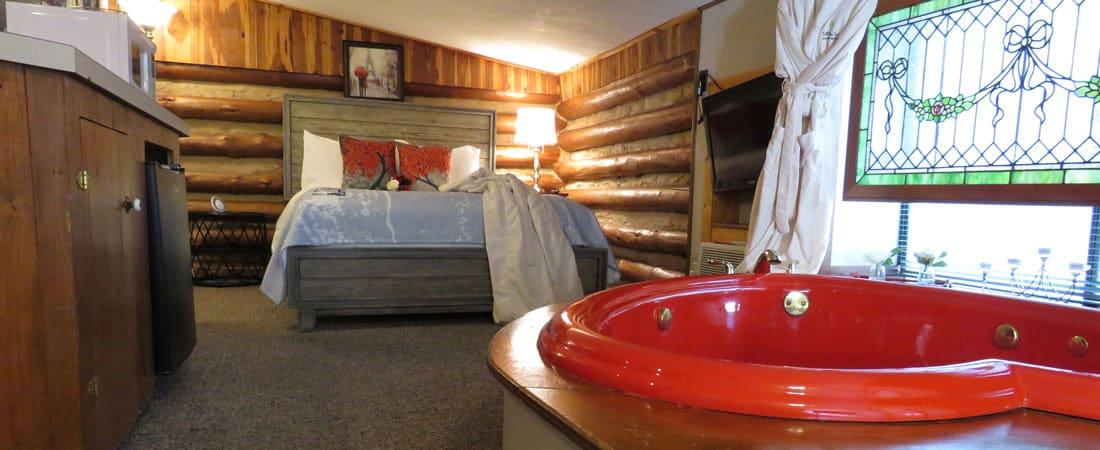 Hot tub in Cozy