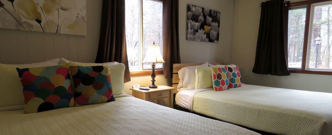 Family Duplex: 2 Queen Beds