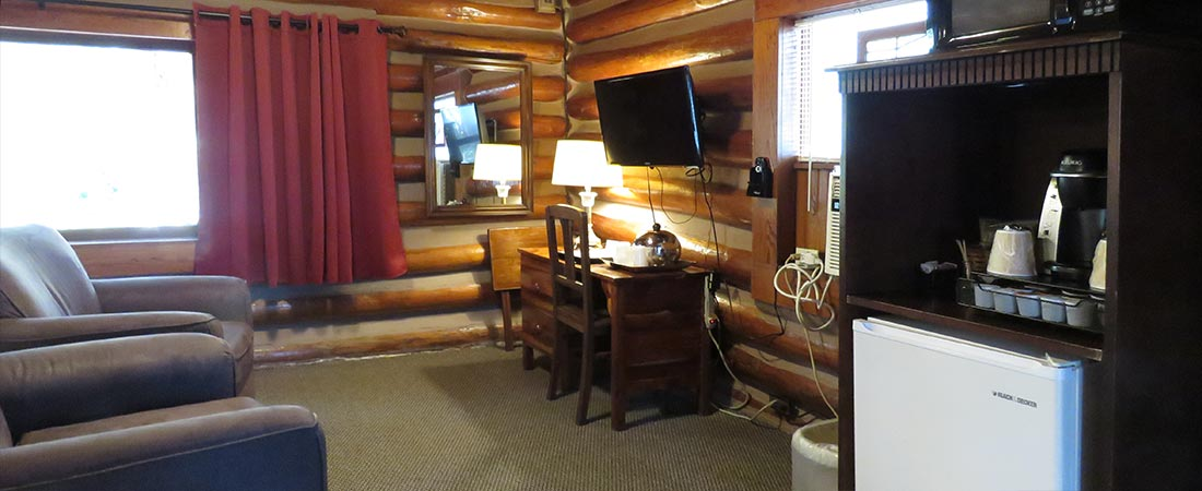 Historic Cabin 1 Interior