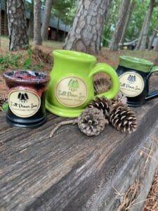 tall pines inn ceramic mugs
