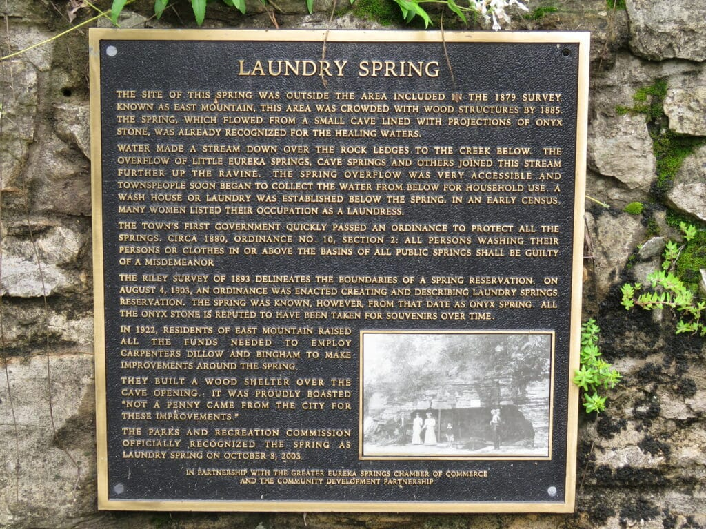 Signage for Laundry Spring